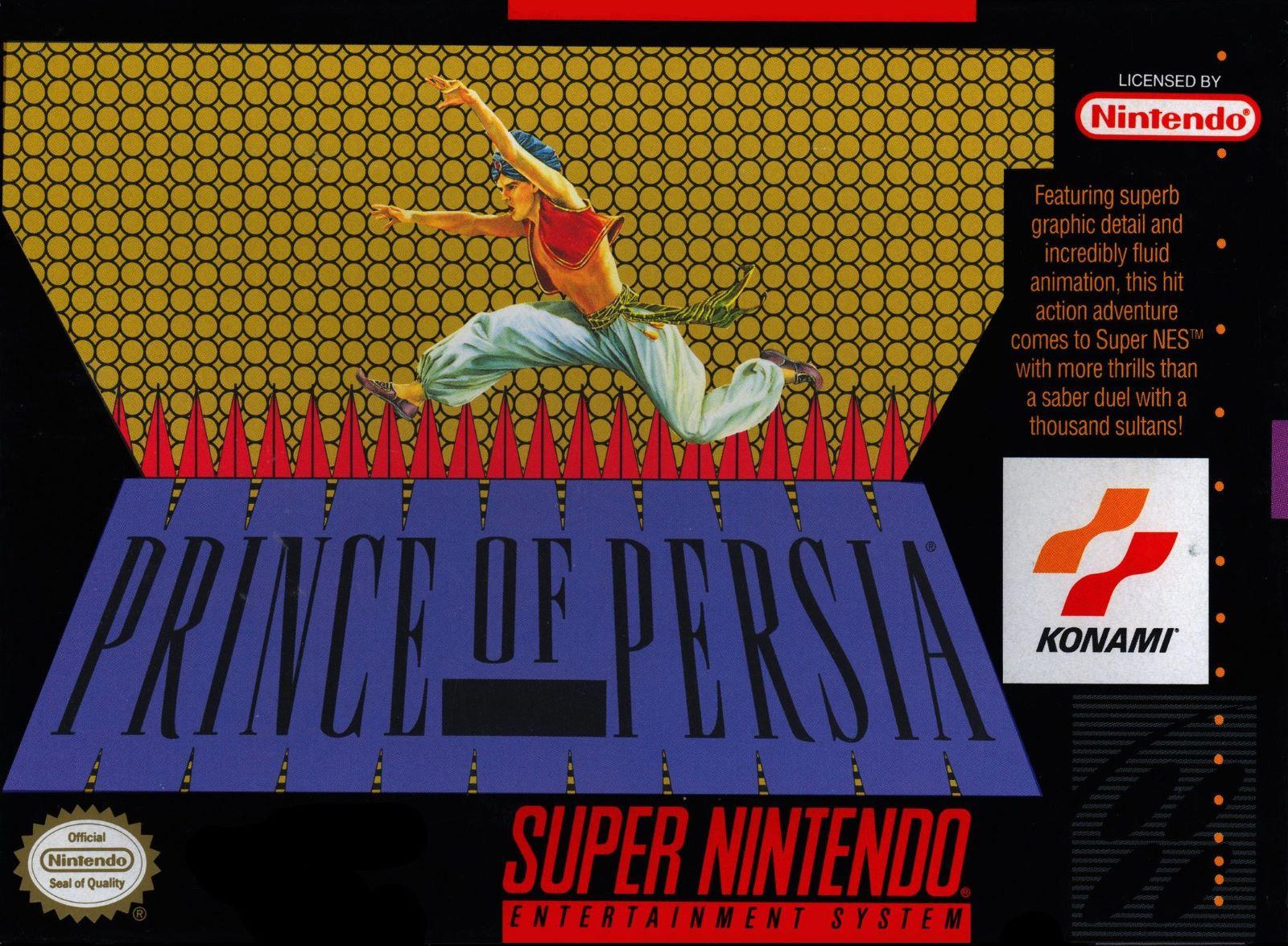 Prince of Persia SNES Super Nintendo