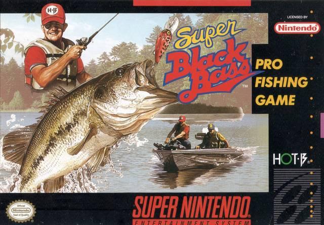 Super Black Bass SNES Super Nintendo