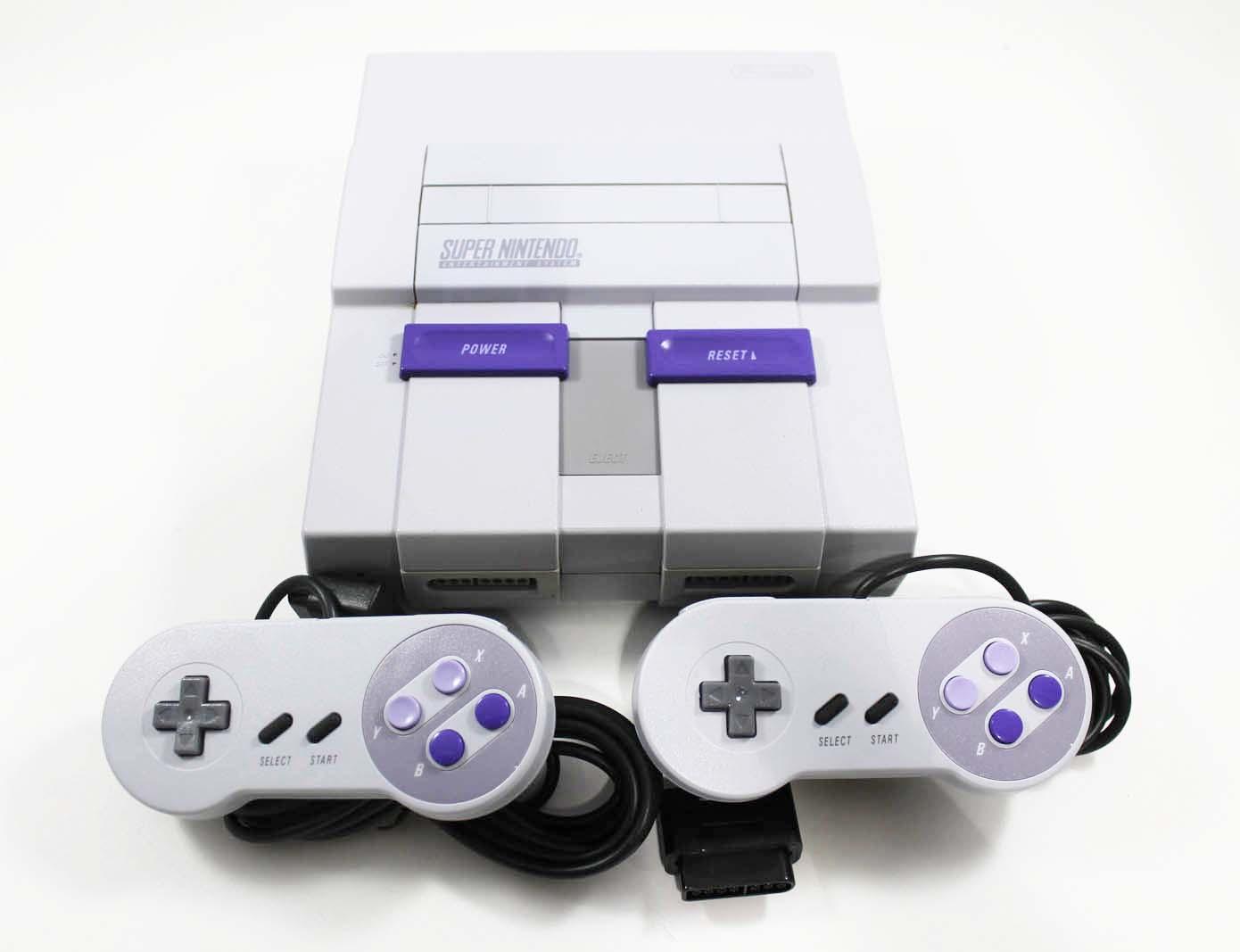 Original Super Nintendo System In Great Condition