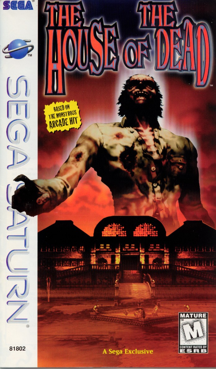 The house of the dead sega saturn game for Housse of the dead