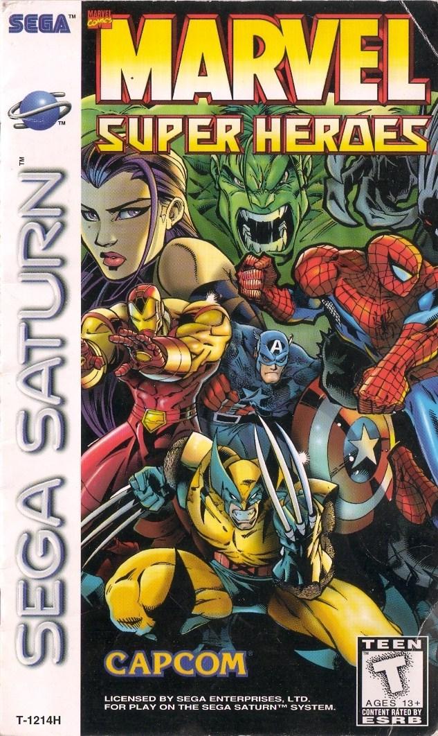 Marvel super heroes sega saturn game - Super heros fille marvel ...