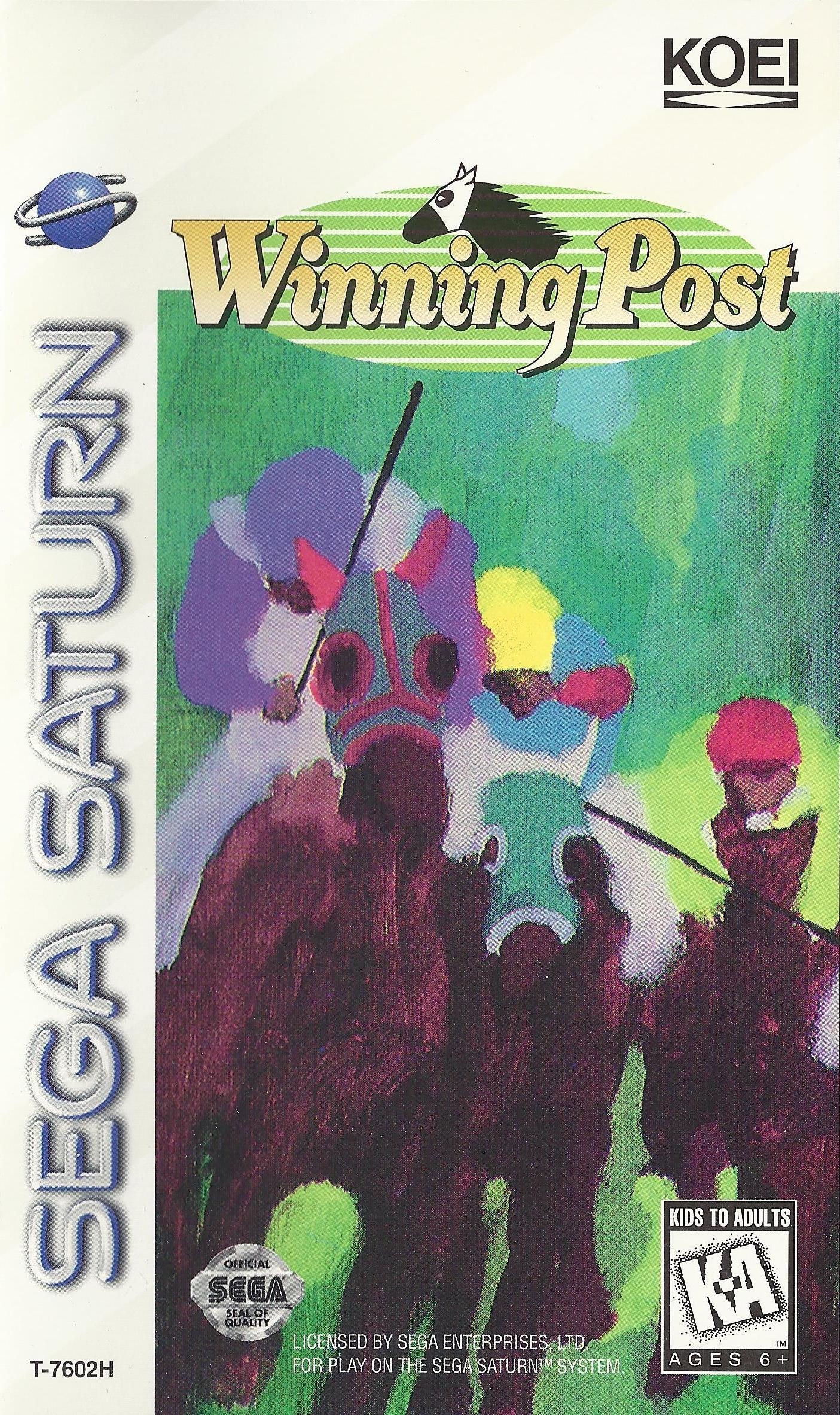 Winning Post Sega Saturn Game