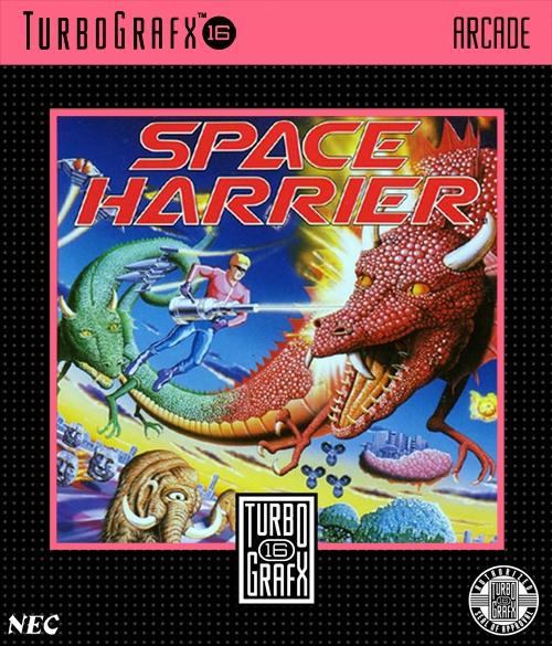 Space Harrier Turbografx 16 Game
