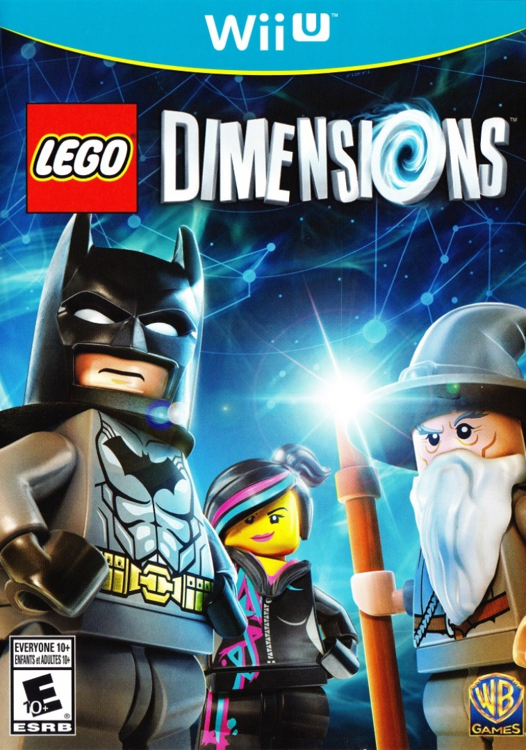U With Wii Games 2 : Lego dimensions game only nintendo wii u