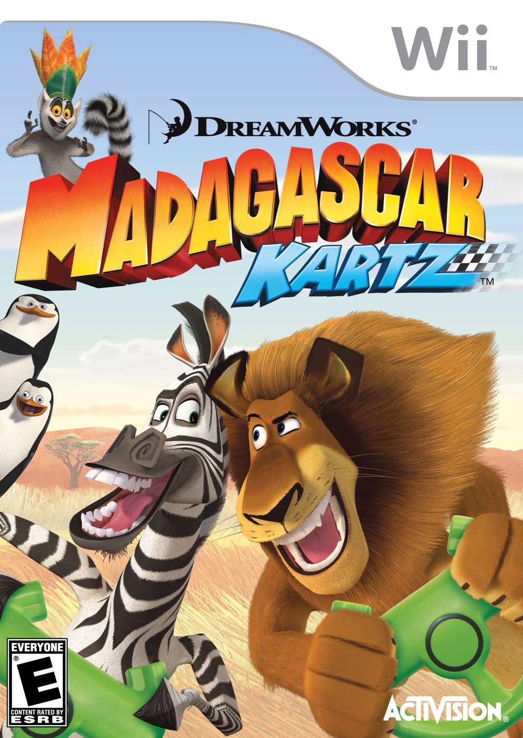 Madagascar Kartz Nintendo WII Game