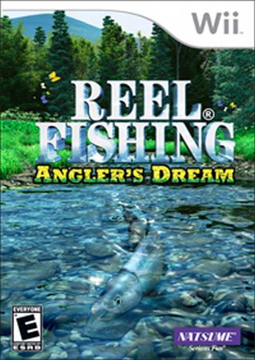 Reel fishing angler 39 s dream nintendo wii game for Reel fishing game