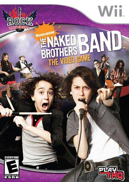 Rock University Presents The Naked Brothers Band Nintendo