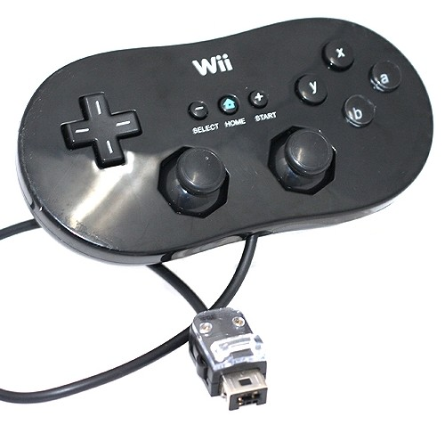 how to connect nintendo classic controller to wii