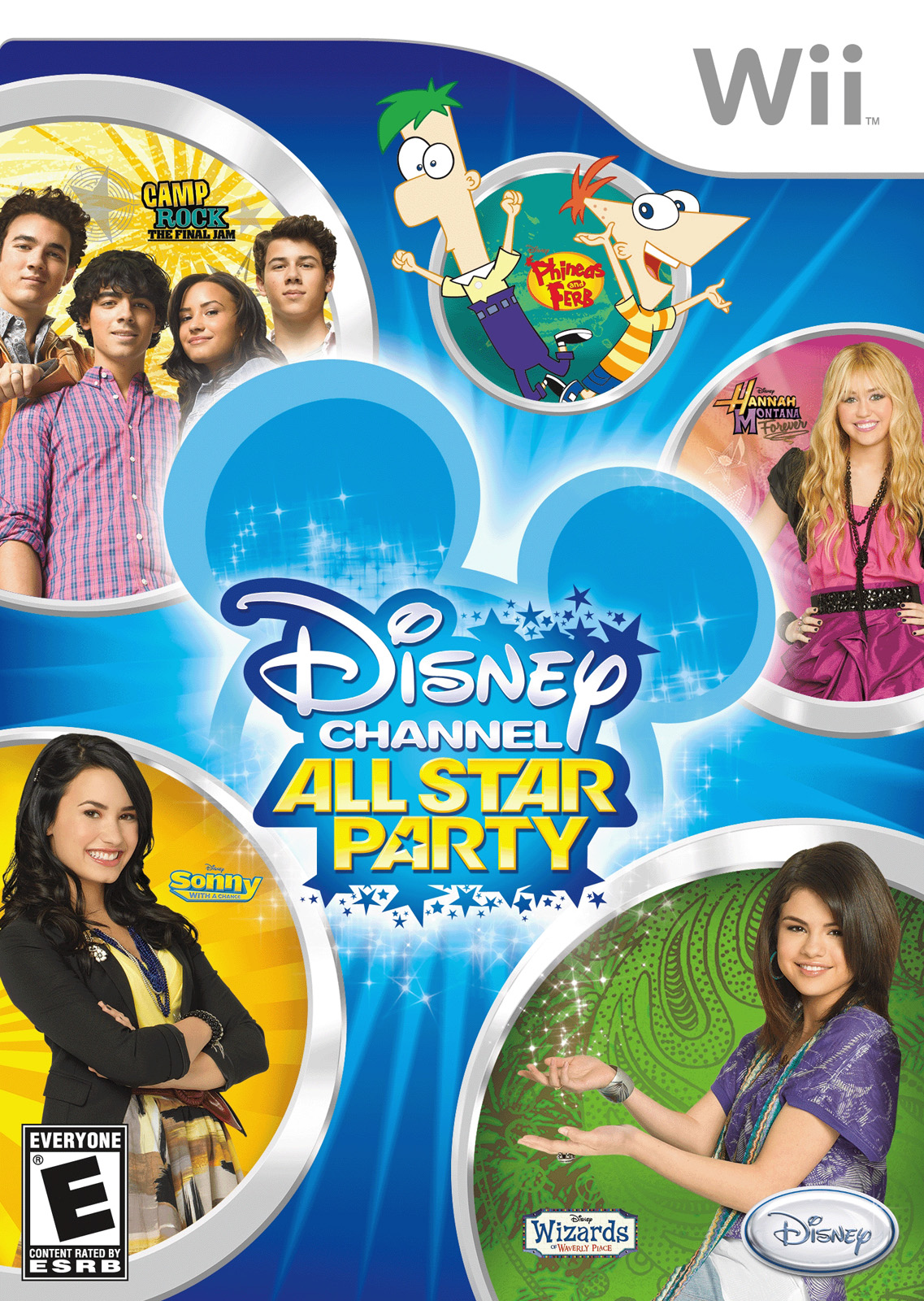 Disney Channel All Star Party Nintendo Wii Game