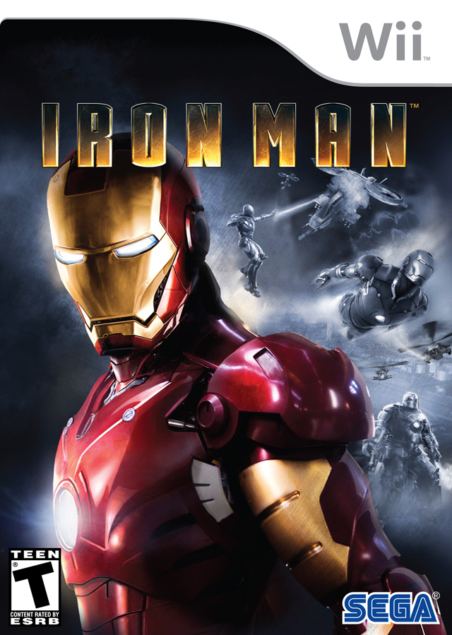 Iron Man Nintendo Wii Game