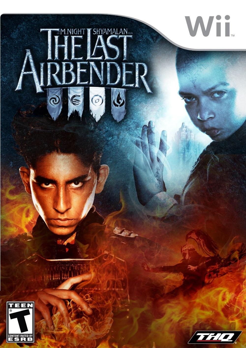 the last airbender nintendo wii game