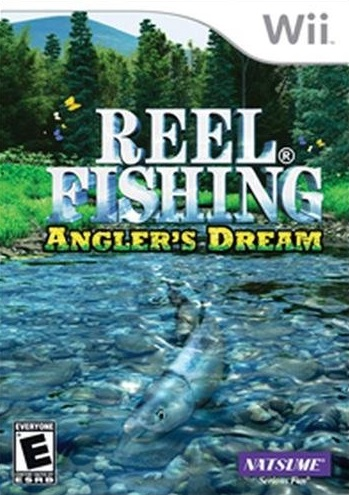 Reel fishing angler 39 s dream nintendo wii game for Wii fishing games