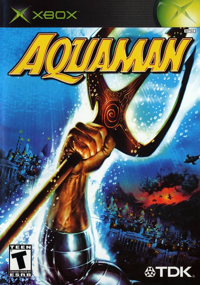 aquaman battle for atlantis xbox
