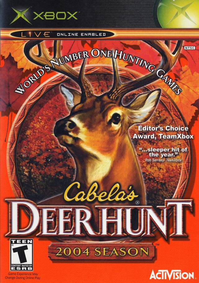 Hunting Games For Xbox 360 : Cabela s deer hunt xbox