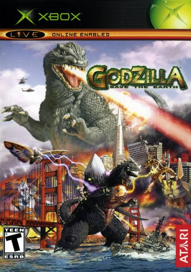 Godzilla Save The Earth Xbox