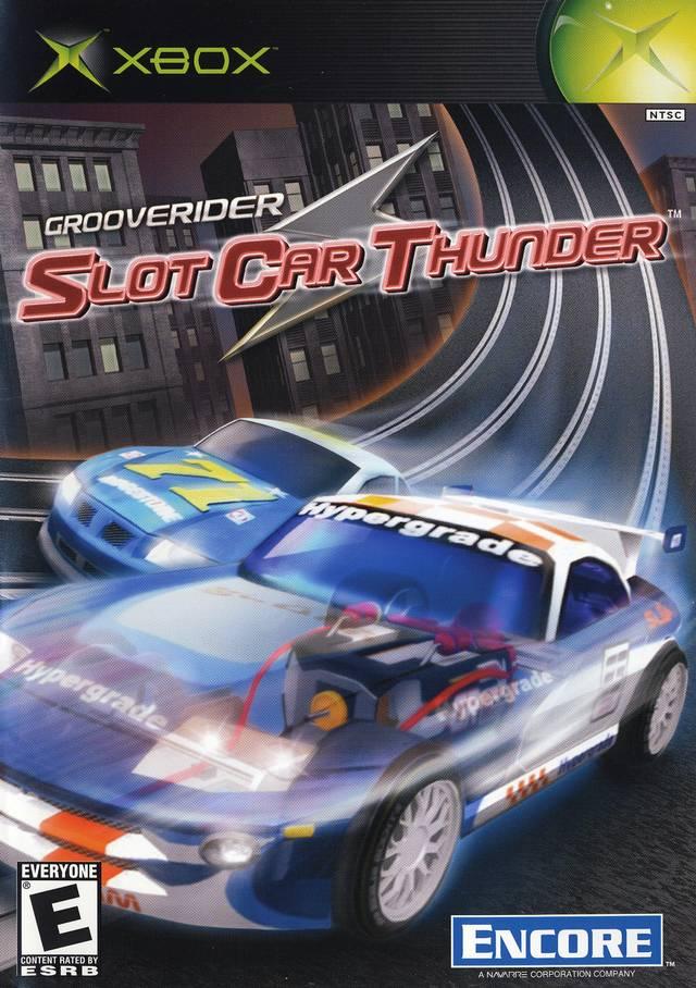 Grooverider Slot Car Thunder Xbox