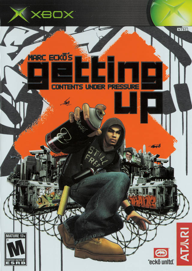 Contents Under Pressure: Marc Ecko's Getting Up Contents Under Pressure Xbox