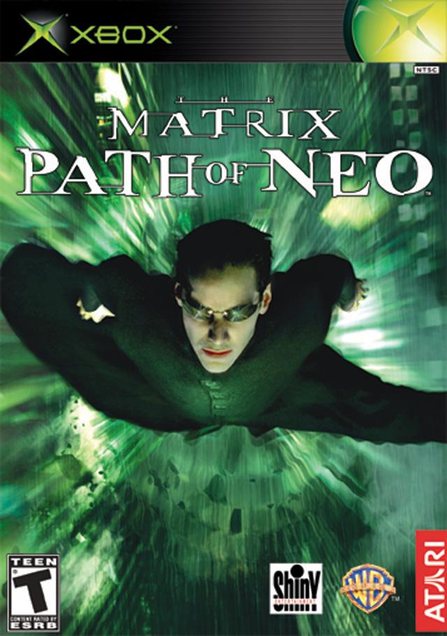 Matrix Path of Neo-Matrix Path of Neo Xbox Game.
