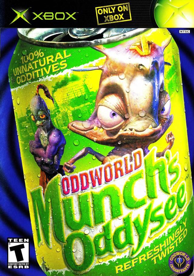 Oddworld Munch S Oddysee Xbox