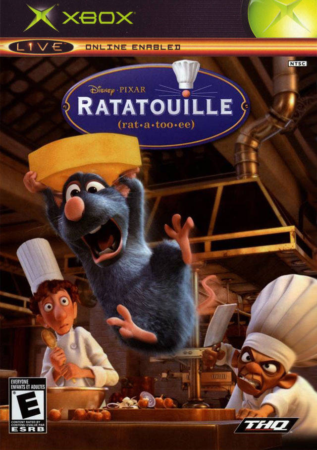 Ratatouille Xbox