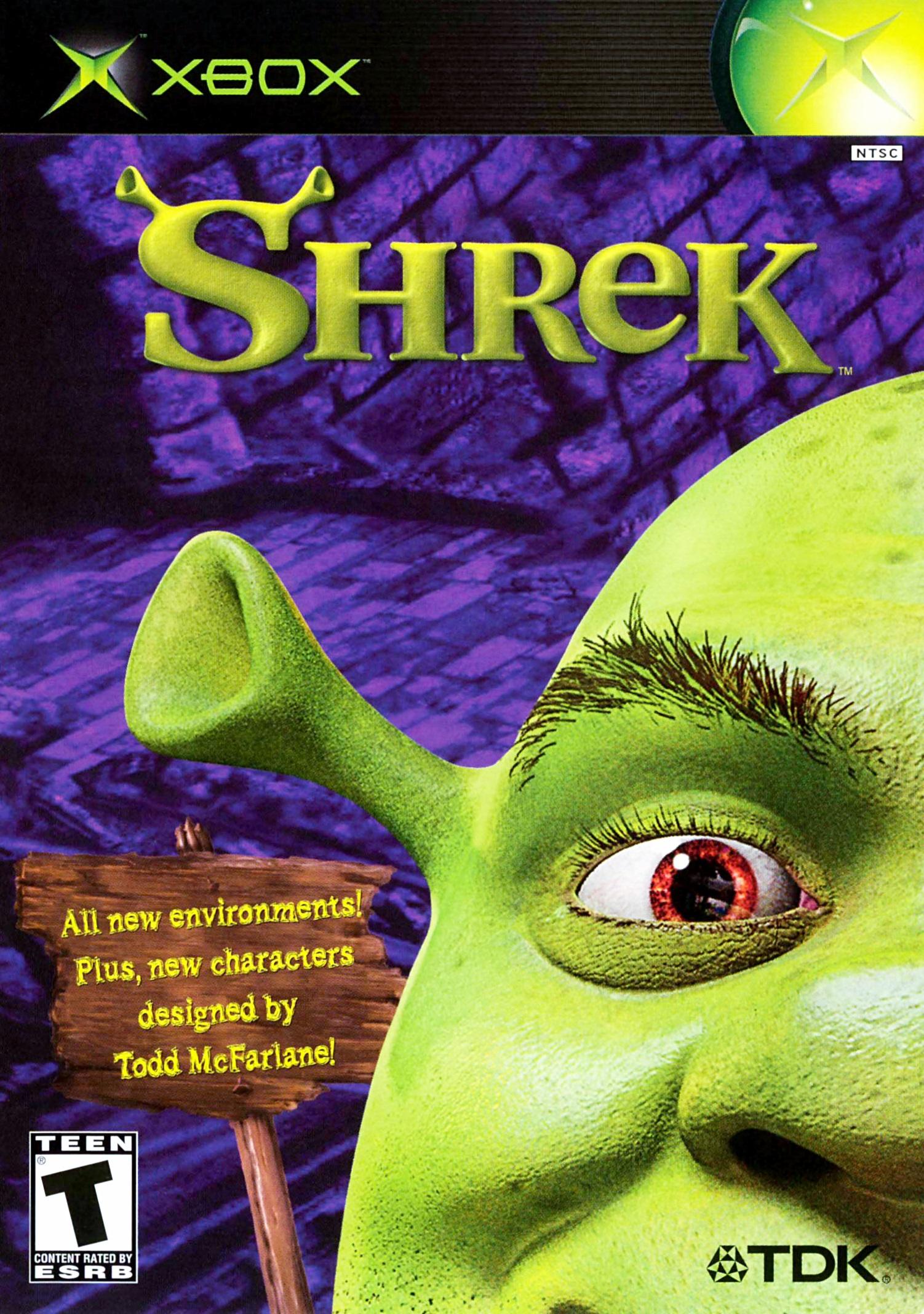 Shrek Xbox