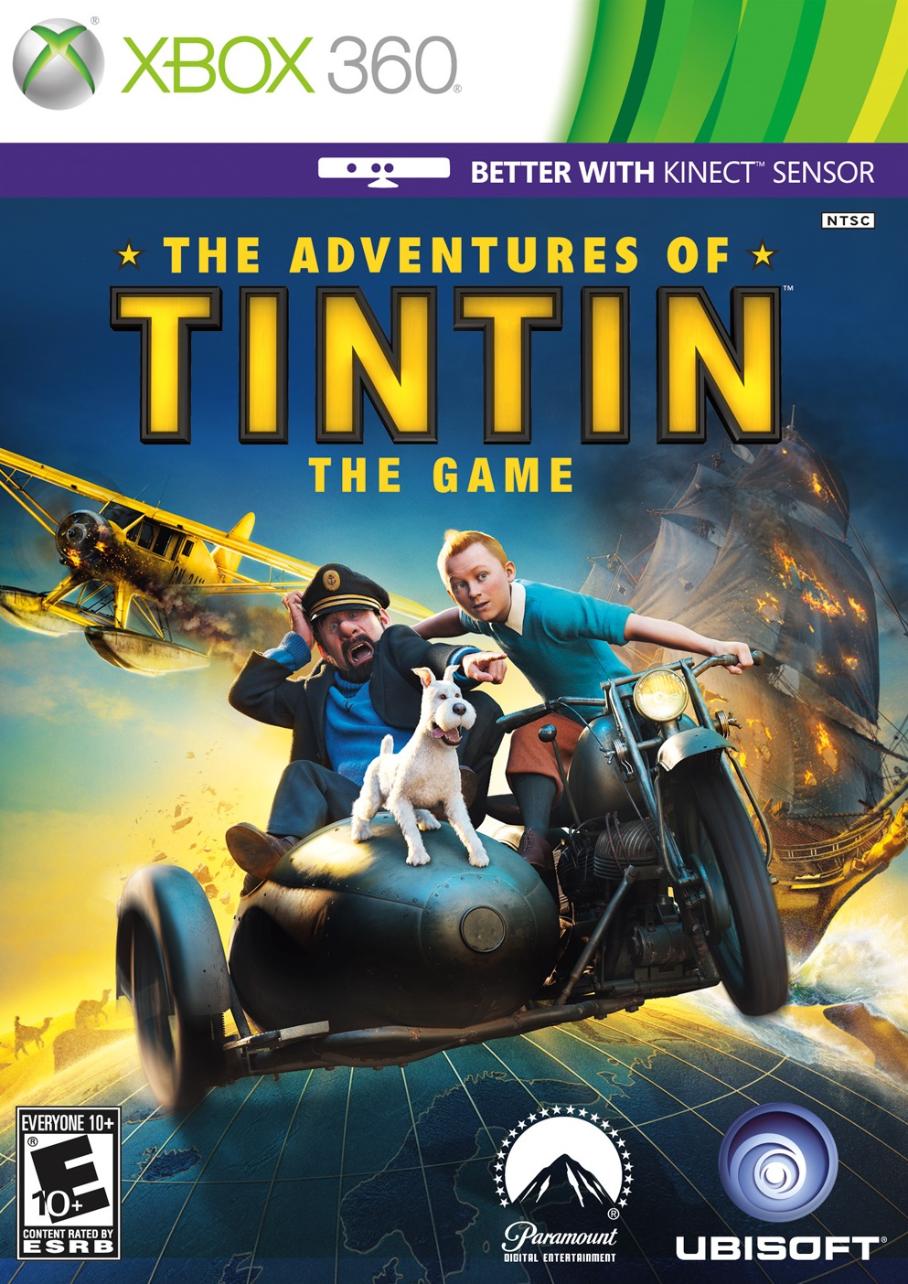 Adventures of Tintin: The Game Xbox 360 game