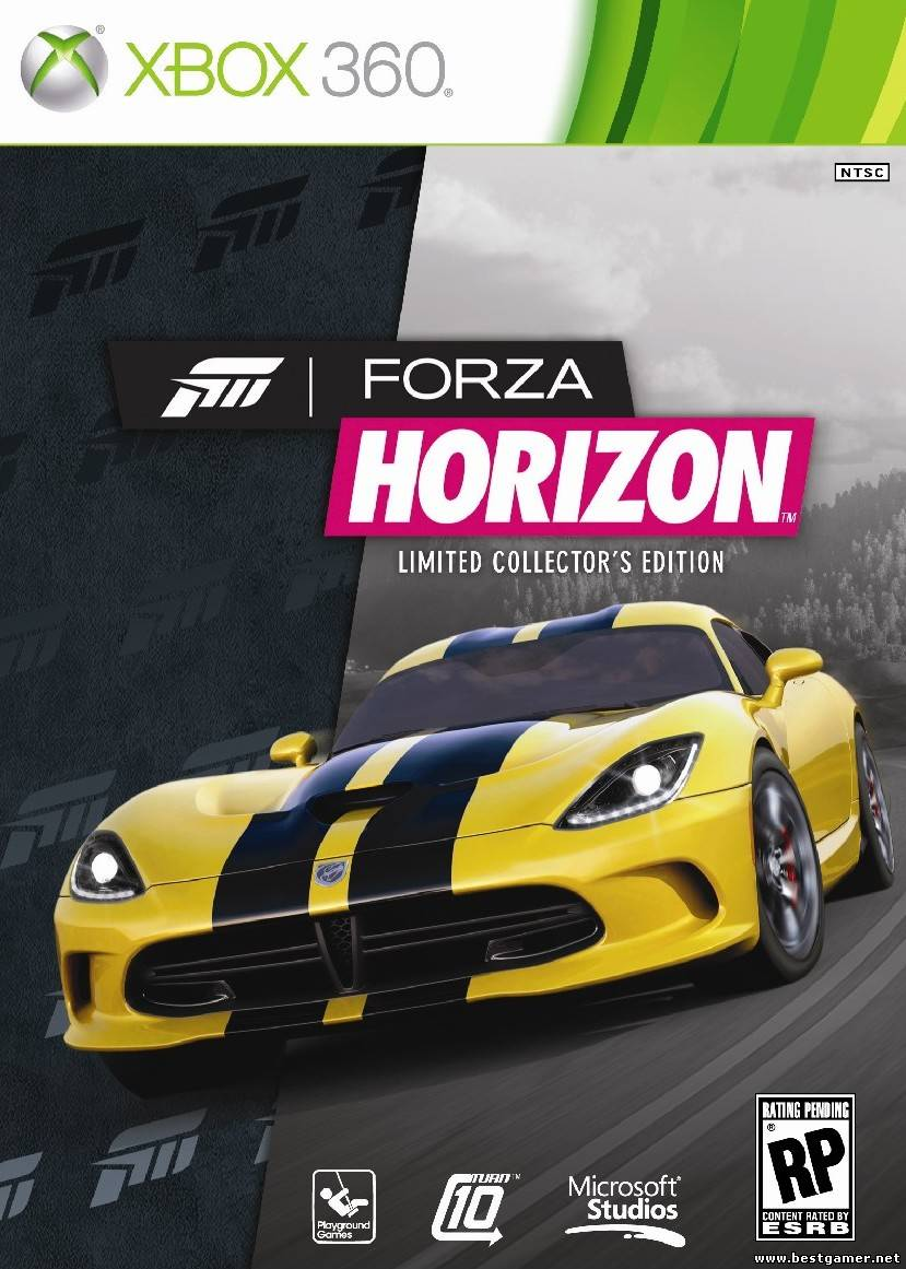 forza horizon limited edition xbox 360 game. Black Bedroom Furniture Sets. Home Design Ideas