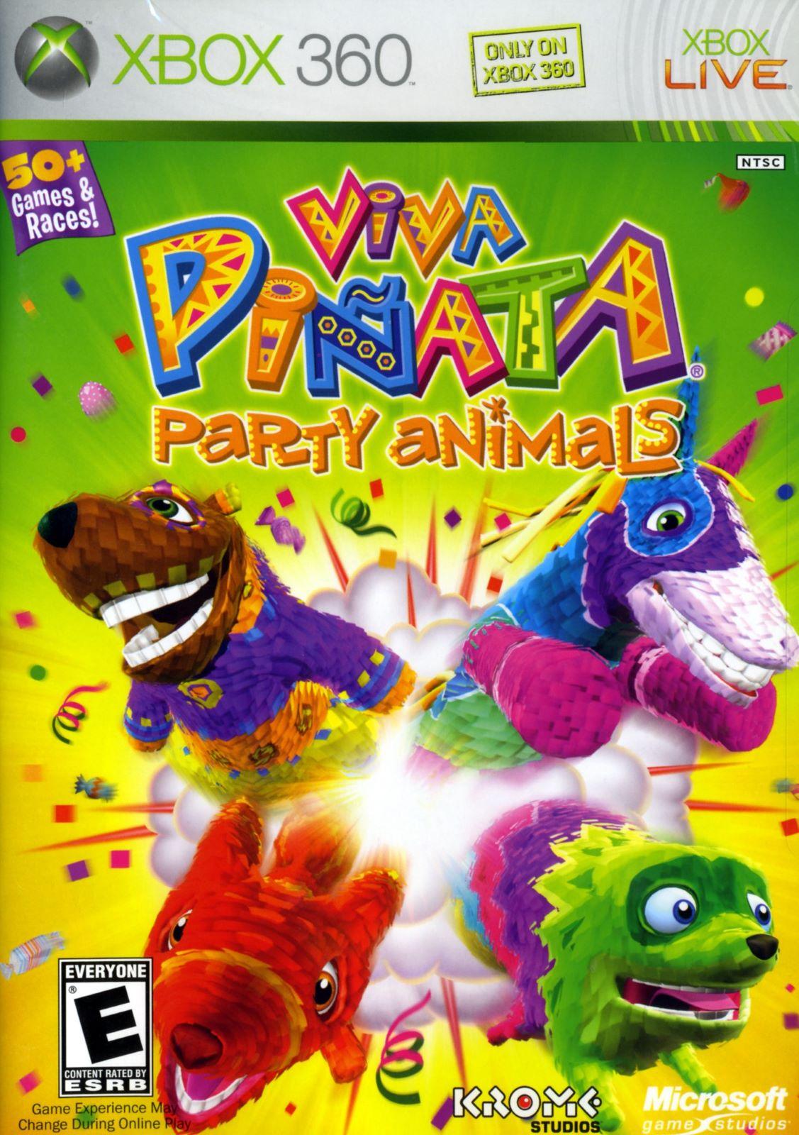 Viva Pinata Party Animals Xbox 360 Game