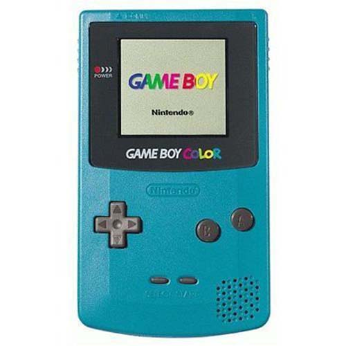Ice Blue Game Boy Color System For Gameboy Color