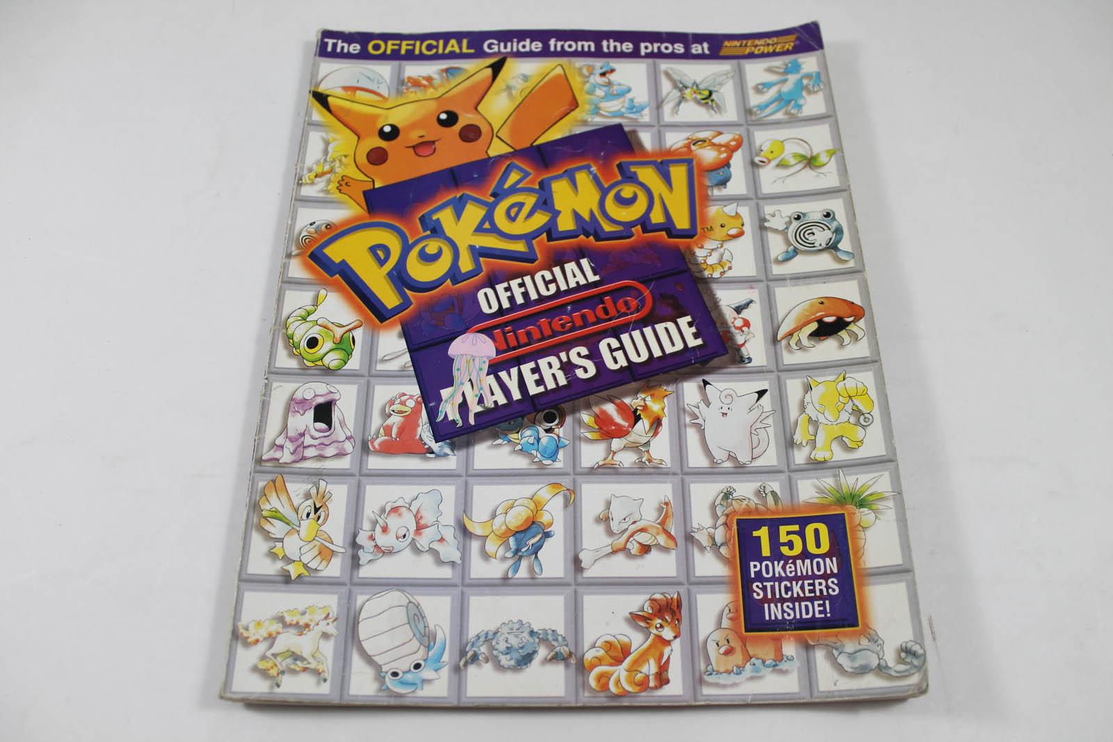Pokemon Official Nintendo Player's Guide ( Nintendo Power)