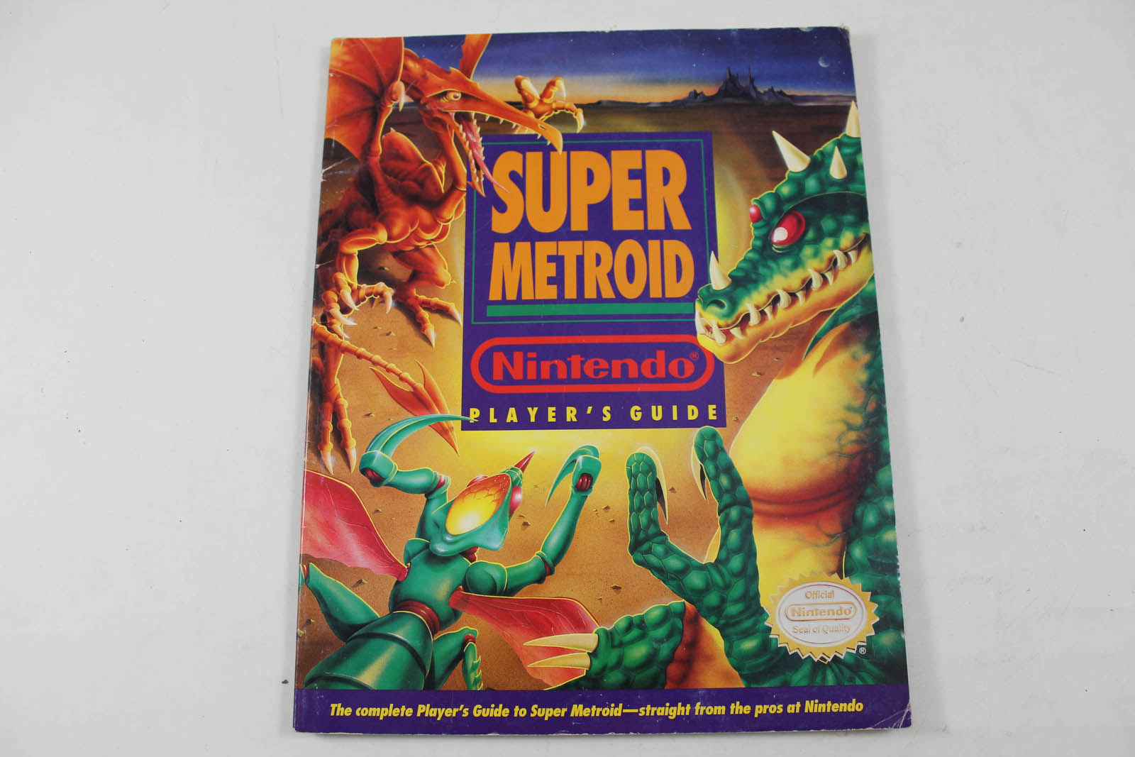 Super Metroid Official Nintendo Players Guide - Nintendo Power