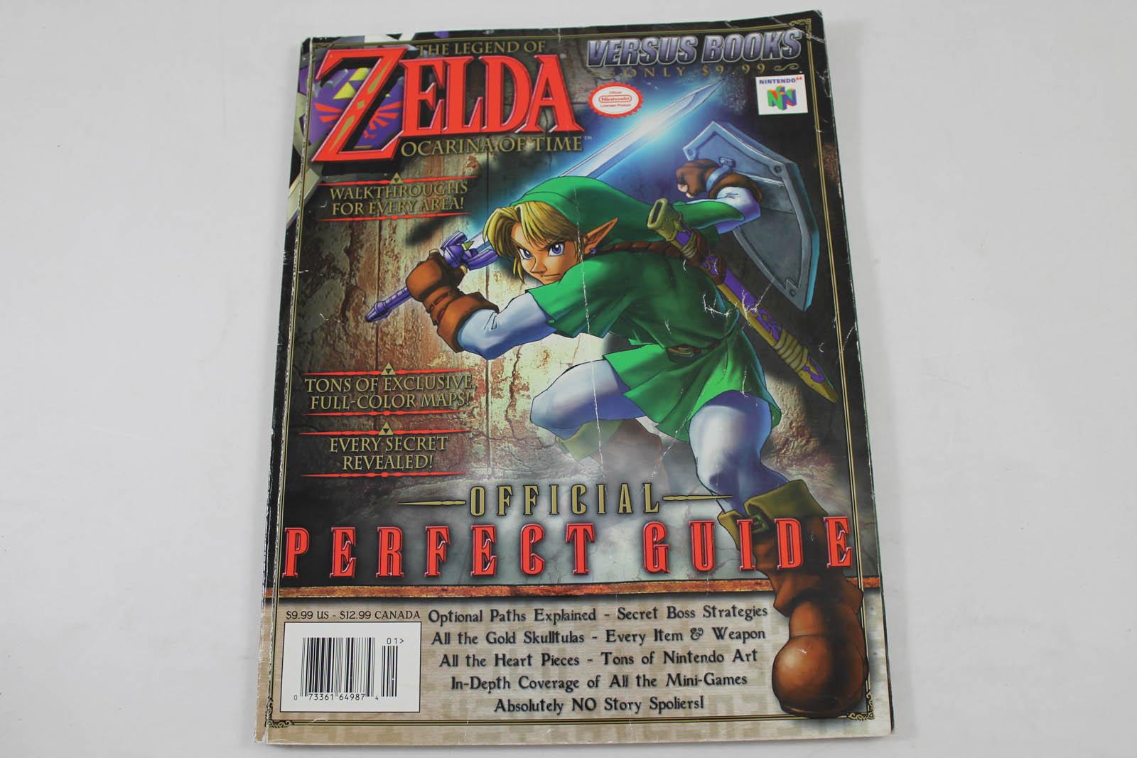 The legend of zelda ocarina of time perfect guide volume for Bureau zelda