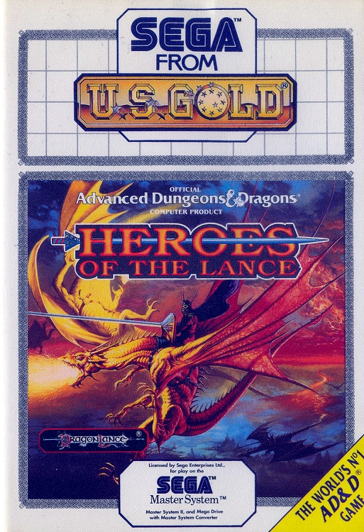 Advanced Dungeons and Dragons Heroes of the Lance