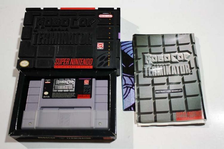 Robocop VS Terminator- COMPLETE SNES GAME!