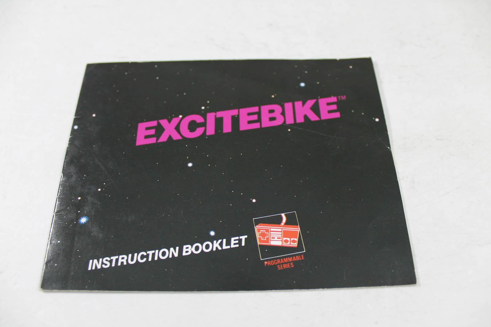 Manual - Excitebike - Fun Classic Nes Nintendo Excite Bike