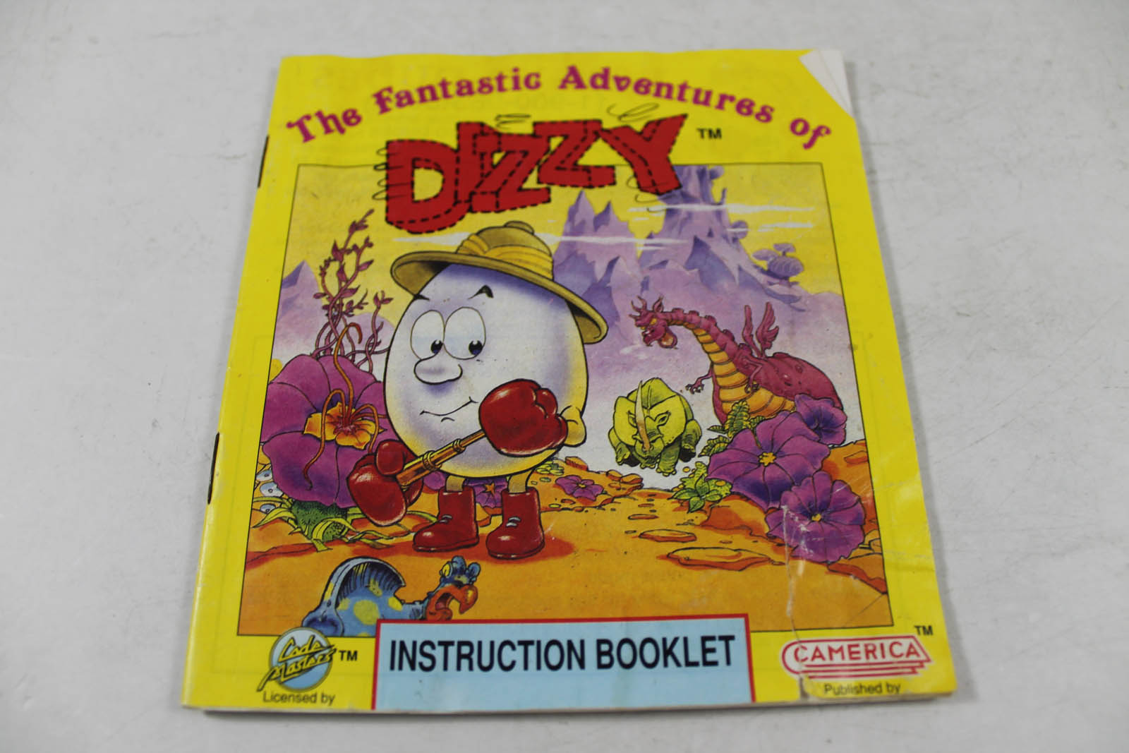 Manual - Fantastic Adventures Of Dizzy - Nes Nintendo
