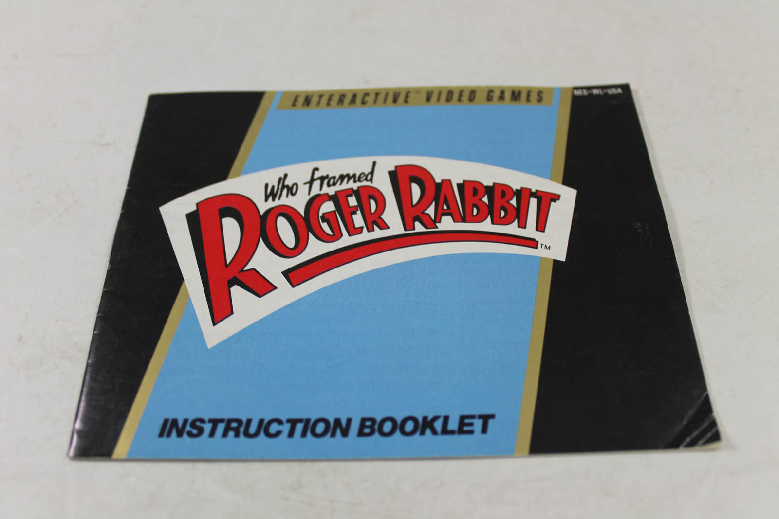 Manual - Who Framed Roger Rabbit - Nes Nintendo
