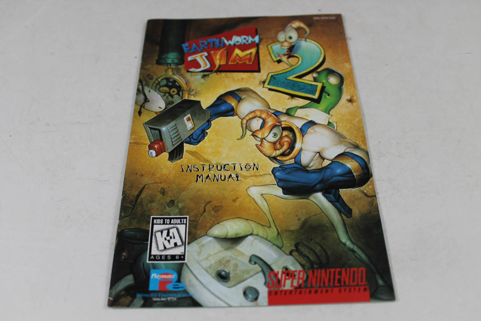 Manual - Earthworm Jim 2- Snes Super Nintendo