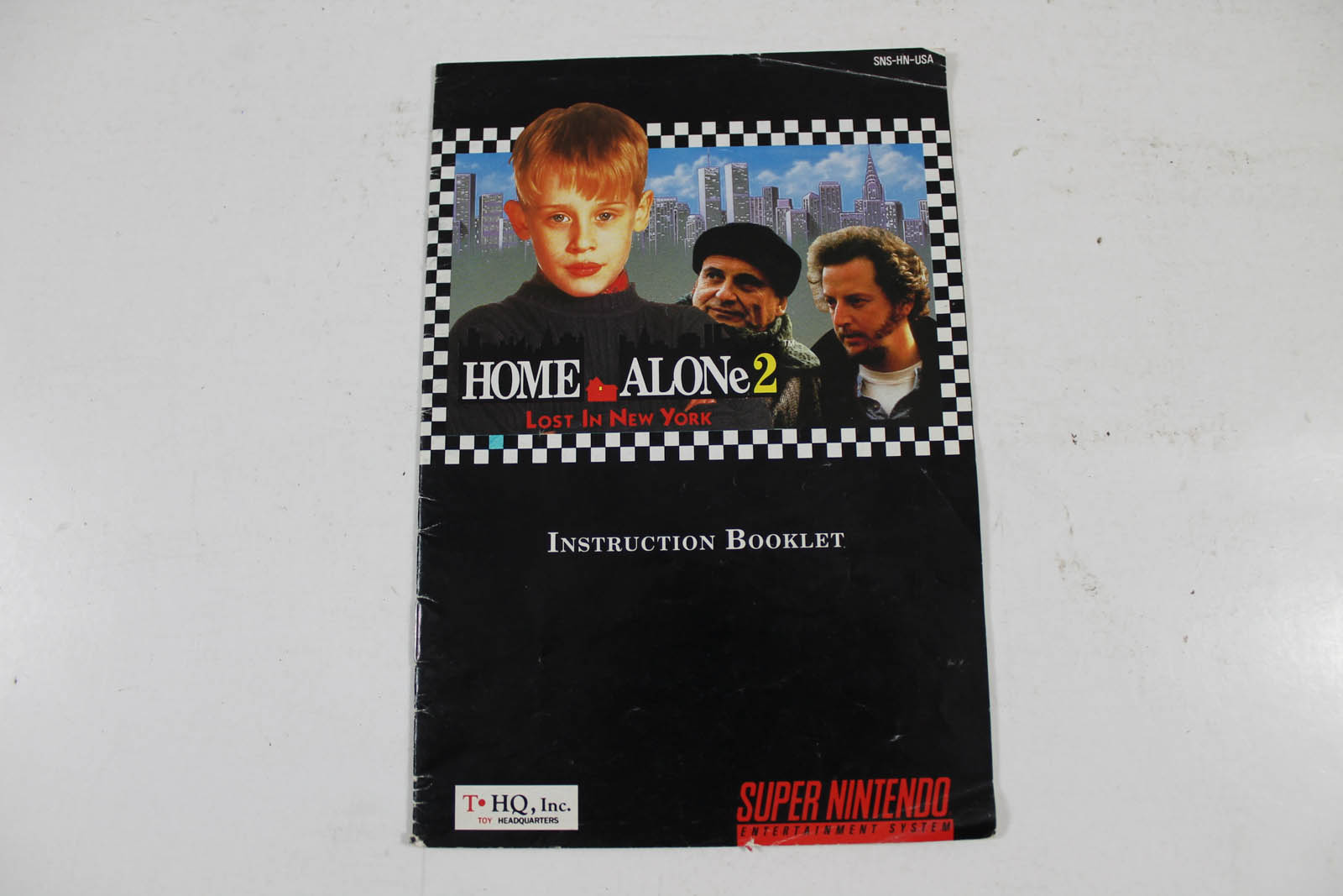 Manual - Home Alone 2 - Snes Super Nintendo