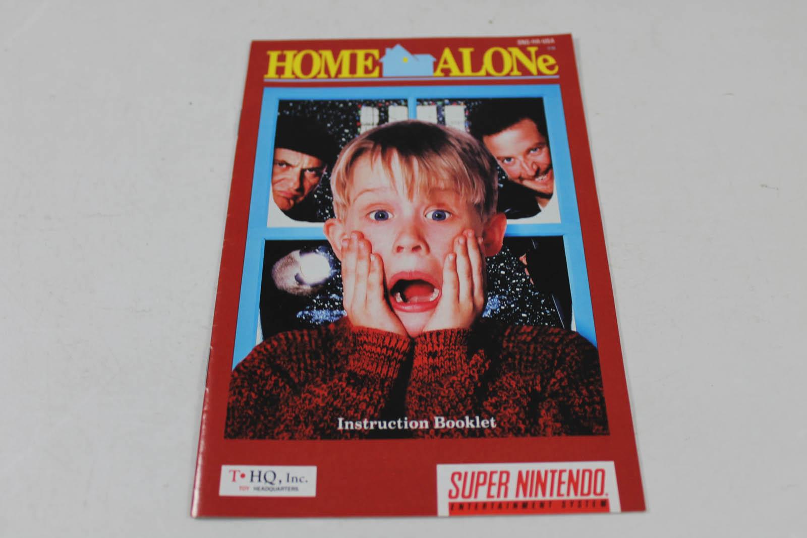 Manual - Home Alone - Snes Super Nintendo