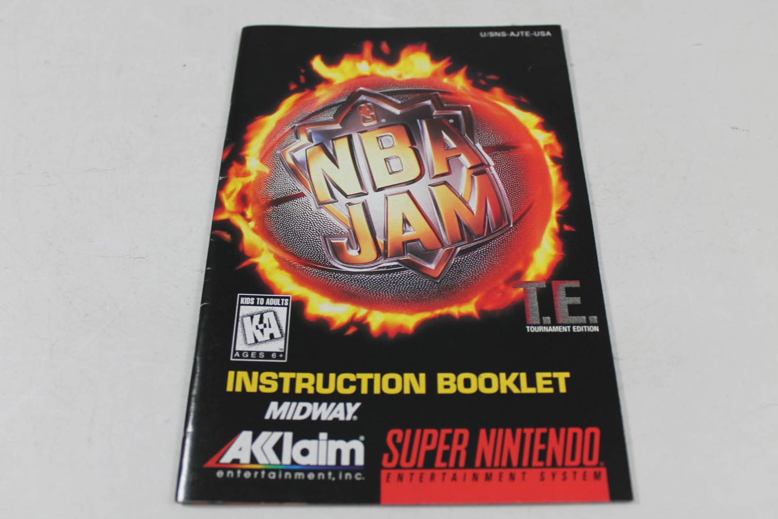 Manual Nba Jam Tournament