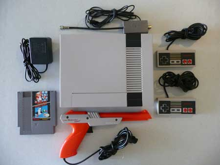 Buy a Used NES Nintendo System Console with Gun, Games, and More!