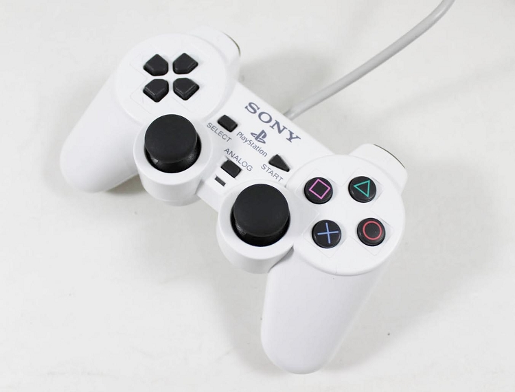 Used White Playstation 2 Dualshock 2 Controller