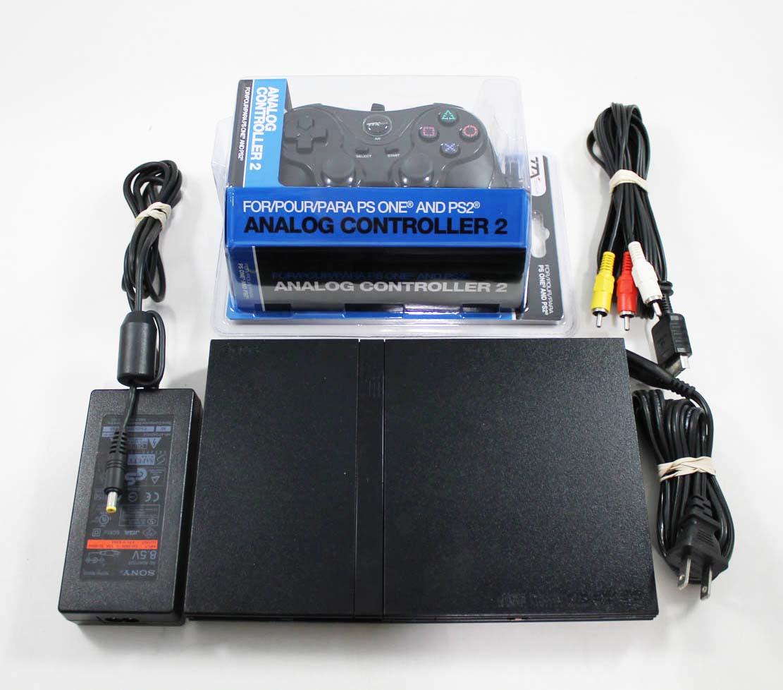 playstation 2 slim system console on sale. Black Bedroom Furniture Sets. Home Design Ideas