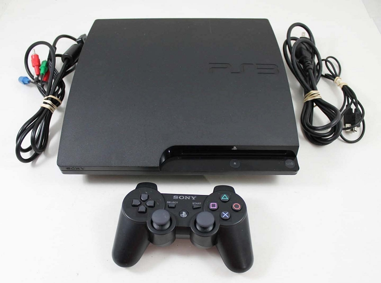 sony playstation 3 console 320gb system. Black Bedroom Furniture Sets. Home Design Ideas