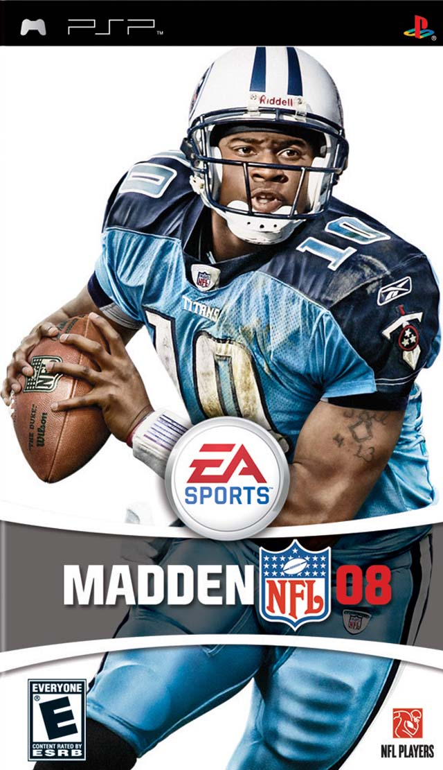 Madden NFL 08 Box Front.