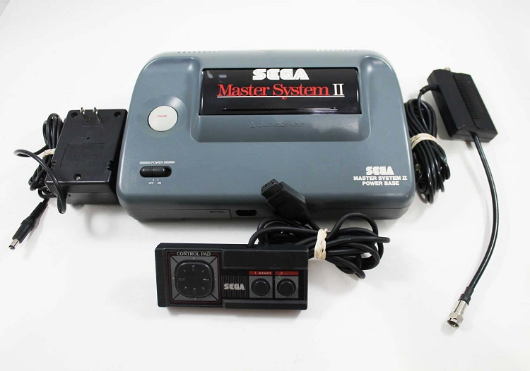 Sega master system 2 ii system - Sega master system console for sale ...