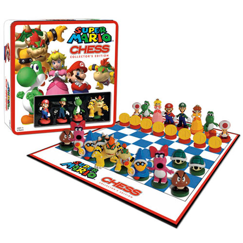 Nintendo super mario chess new Where can i buy a chess game