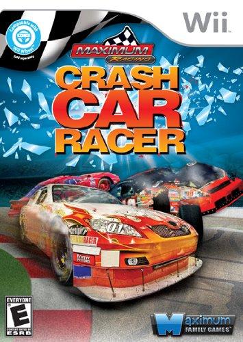 Maximum Racing Crash Car Racer Nintendo Wii Game