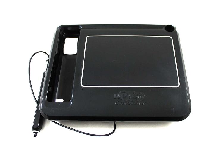 Nintendo wii u draw tablet black for Nintendo wii u tablet